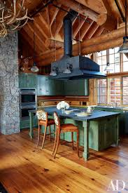 cabinets uk cabis: inside pauline pitts rustic aspen getaway photos architectural digest