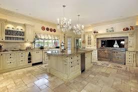 limestone tiles kitchen: traditional kitchen with limestone tile floors floor and decor crema antiqua tumbled travertine tile