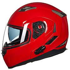 ILM Bluetooth Integrated Modular <b>Flip up</b> Full Face <b>Motorcycle</b> ...