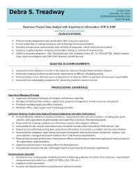 business project data analyst resume sample eager world it