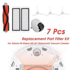Vacuum <b>Cleaners Main Brush Filter</b> Kit Replace Part For Xiaomi Mi ...