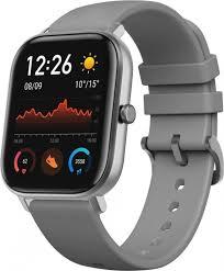 Купить смарт-часы Amazfit <b>GTS</b>, <b>серый</b> ремешок по низкой цене ...
