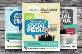 pamphlet photos graphics fonts themes templates creative market social media marketing flyers