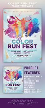 color run festival flyer template festivals flyer template and color run festival flyer template psd template triathlon athletic event