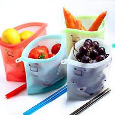 Reusable Silicone Food Storage Bags, Sandwich ... - Amazon.com