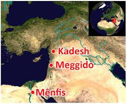 Mapa da cidade de Megido