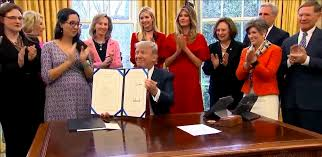 trump signs two stem laws aimed at boosting careers for women in trump stem laws women