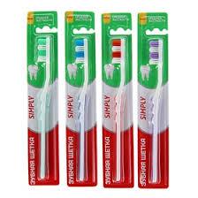 <b>Зубная щётка Rendal</b> Simply, средней жёсткости, 1 шт. МИКС ...