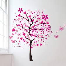 sakura trees wall decals
