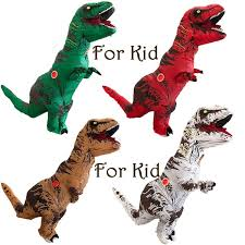 <b>Inflatable</b> T-Rex Dinosaur <b>Costumes</b> for Kids Unisex <b>Blow UP</b> ...