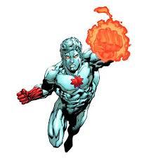 Pinup di Captain Atom. © aventi diritto