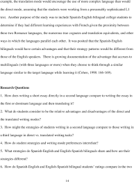 direct vs translated writing what students do and the strategies r ce languages the numerous true cognates and translation equivalents and other ways in which