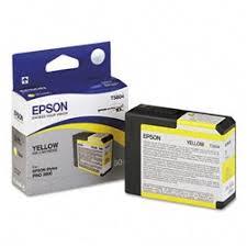 <b>Epson T5804 Yellow</b> Ink