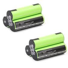 <b>2x</b> Battery 3.6V, <b>2000mAh</b>, NiMH for AEG Junior 2.0 / Electrolux ...