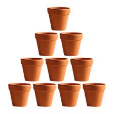 <b>10Pcs Small</b> Mini Terracotta Pot Clay Ceramic Pottery Planter ...