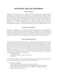 rhetorical analysis essays writing rhetorical analysis essay part time job resume template thatnut us worksheet collection