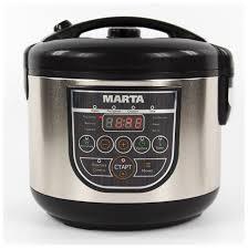 Купить <b>Мультиварка MARTA MT-4324 NS</b> черный жемчуг по ...