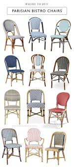 french hunting chairs x parisian bistro chairs the ones you see lining dreamy french cafacs ha