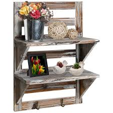 country themed reclaimed wood bathroom storage: rustic bathroom shelves idea great for a small country rustic bathroom