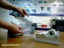 lx pack brand impulse heat sealers for continuous sealing of thermoplastic films polyethylene 24 40 600 1000mm
