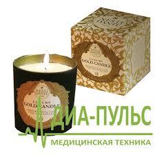 Ароматизированная свеча Золотая 23-карата ... - ДИА-ПУЛЬС