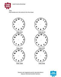 Grade 3, Telling time and Math on PinterestMath Printable - Telling time lesson for grade 3; EQAO, math and measurement-