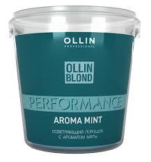 <b>Ollin Professional Color</b> mint aroma bleach powder (500g) - 4HAIR.LV