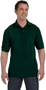 Hanes Men's ComfortSoft Piqu   Polo, Deep <b>Forest</b>, <b>2X</b>-Large at ...