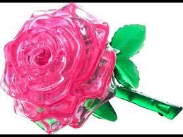 <b>Пазл</b> роза <b>3D Crystal Puzzle</b> - YouTube