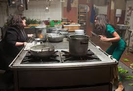Baston dans la cuisine