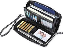 JEEBURYEE Women's RFID Blocking Large Capacity <b>Luxury Oil</b> ...