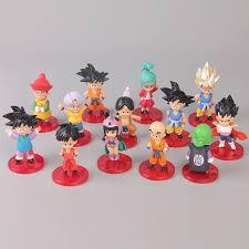 <b>13 pcs</b>/<b>set Dragon Ball</b> Buruma Goku Chichi Gohan Broly Frieza ...