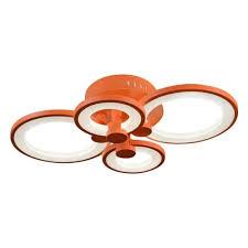 <b>Потолочная</b> светодиодная <b>люстра iLedex</b> Ring A001/4 Orange ...