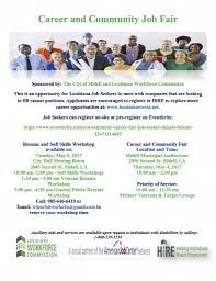 louisiana workforce commission linkedin for more information on the resume and soft skills workshop and the career community jo fair please call 985 646 6410 or email triparishworks4u gmail com