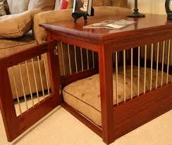 solid maple mahogany dog crate furniture style dog crates