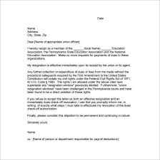 simple resignation letter template –    free word  excel  pdf    keyta org   the simple union resignation letter template is a simple and comprehensive union resignation letter that states that the employee is resigning