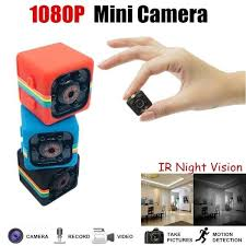 <b>Anti</b>-<b>Theft Mini Camera with</b> Night Vision & Motion Sensor - Top and ...