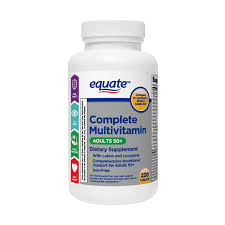 Equate Complete <b>Multivitamin</b> Tablets, <b>Adults</b> 50+, 220 Count ...