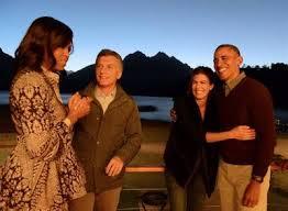 Resultado de imagen para macri con obama