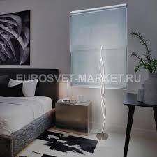 <b>Торшер Eurosvet 80404/2</b> сатин-никель / Led / Торшеры ...