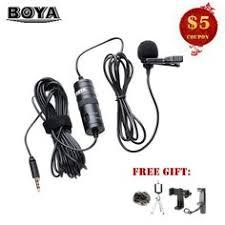 <b>Microphones</b> Smart Phone Recording PC <b>Clip-on Lapel</b> Support ...