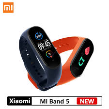 <b>NEW Xiaomi Mi Band</b> 5 Smart Bracelet 4 Color AMOLED Screen ...