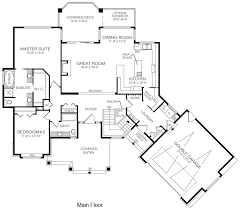 House Plans The Boynton   Cedar HomesAs part of its smart layout  the garage and laundry room mud room extend at an angle from the main part of the home
