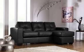 rio black leather corner sofa black leather sofa
