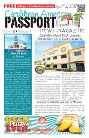 the source for caribbean information caribbean american passport news magazine issue