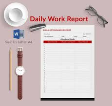 Daily Report Template - 25+ Free Word, Excel, PDF Documents ...