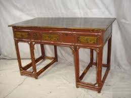 antique chinese bamboo writing desk chinese bamboo furniture