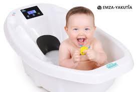 <b>Детская ванночка с электронными</b> весами и термометром Baby ...