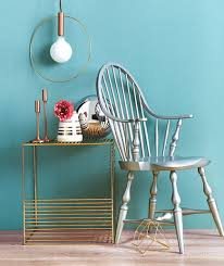 silver gold furniture blue wall best furniture images