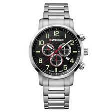 <b>Wenger</b>, браслет из нержавеющей стали, военные наручные <b>часы</b>